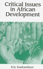 9780944957912: Critical Issues in African Development