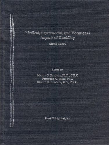 Medical, Psychosocial & Vocational Aspects of Disability: Brodwin, Martin G.