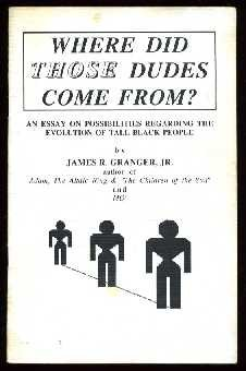 Where Did Those Dudes Come From? An: James R. Granger