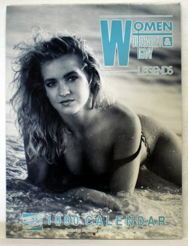 9780945042013: Women of Scarlet and Gray Legends 1990 Calendar Ohio State Pin-ups
