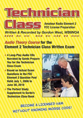 Technician Class: Audio Course (0945053460) by Gordon West