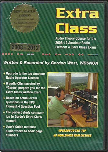 Extra Class Audio Theory Course for 2008-12 FCC License Exam (0945053568) by Gordon West; WB6NOA