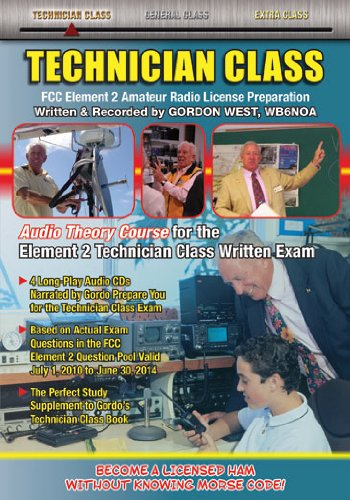 9780945053637: Technician Class 2010-2014 Audio Theory Course