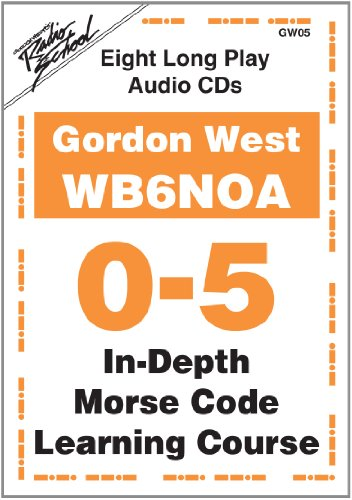 9780945053699: In-Depth Morse Code Learning Course for 0-5 WPM