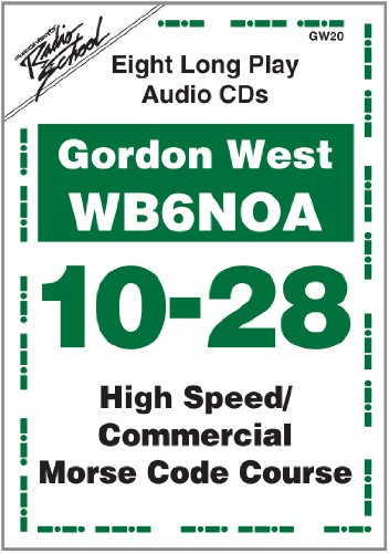 High Speed / Commercial Code Course for 10-28 WPM (0945053711) by Gordon West; WB6NOA