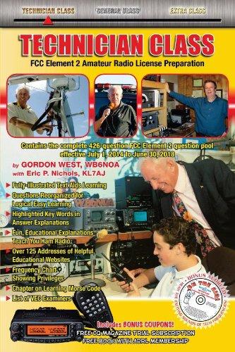 9780945053798: Technician Class 2014-18 FCC Element 2 Radio License Preparation