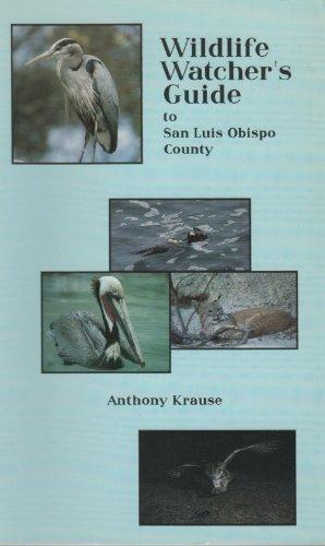 9780945092209: Wildlife Watcher's Guide of San Luis Obispo County
