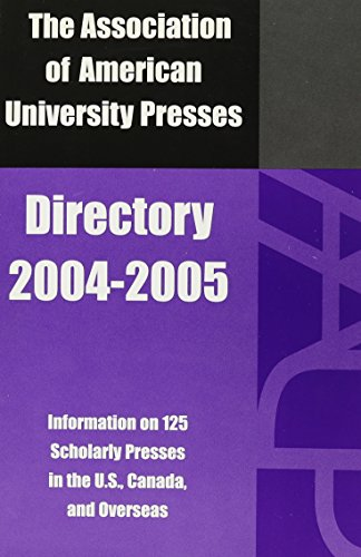9780945103189: The Association of American University Presses Directory, 2004-2005