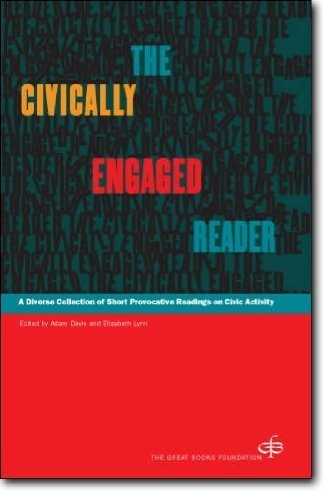 9780945159490: The Civically Engaged Reader: A Diverse Collection of Short Provocative Readings on Civic Activity