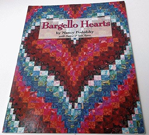 Bargello Hearts: Nancy Podolsky with