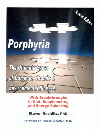9780945262596: Porphyria: The Ultimate Cause of Common, Chronic, and Environmental Illnesses - With Breakthroughs in Diet, Supplements, and Energy Balancing