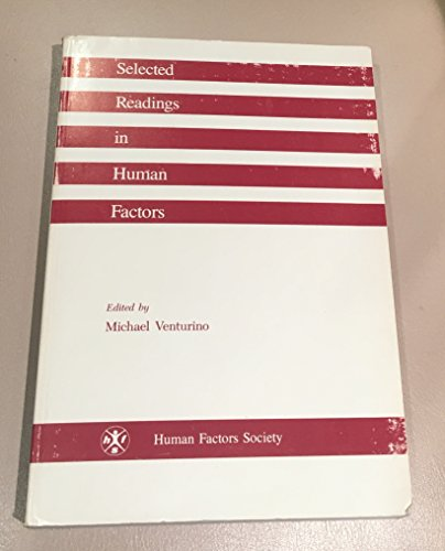 9780945289005: Selected Readings in Human Factors