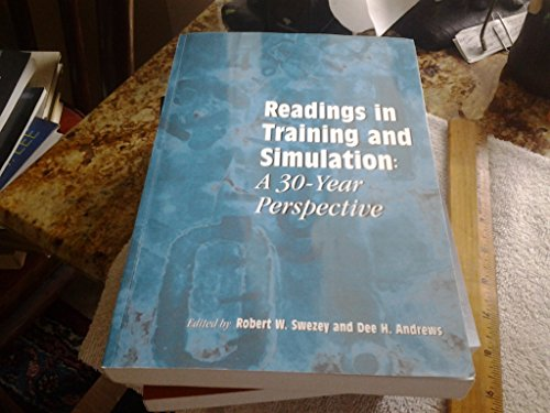 9780945289159: Readings in Training and Simulation: A 30-Year Perspective