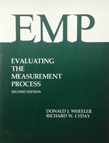 9780945320067: Evaluating the Measurement Process