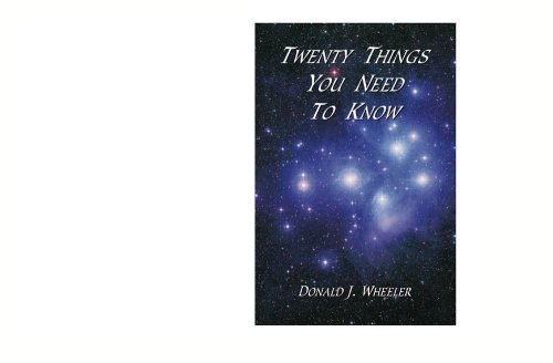 9780945320685: TWENTY THINGS YOU NEED TO KNOW
