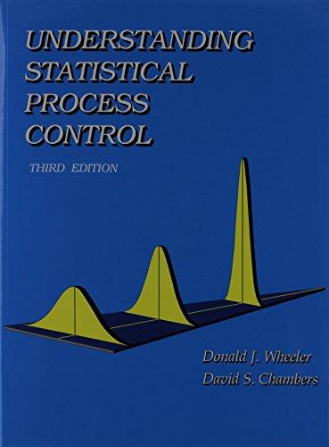 Understanding Statistical Process Control: Donald J. Wheeler