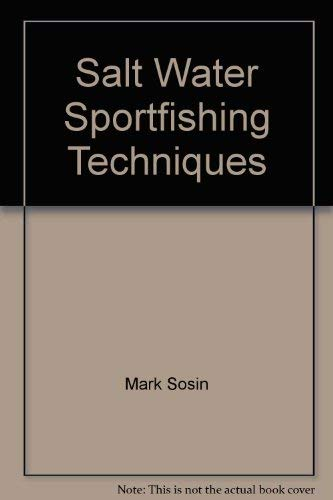 Salt Water Fishing (9780945443001) by Mark Sosin