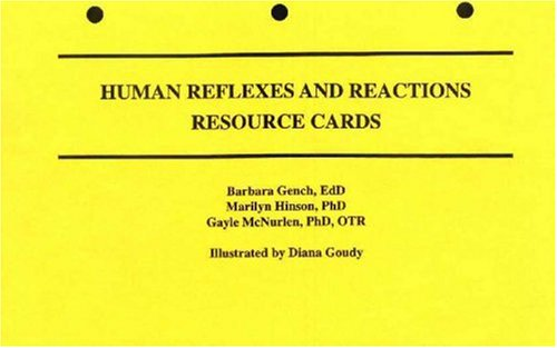 9780945483557: Human Reflexes and Reactions Resource Cards