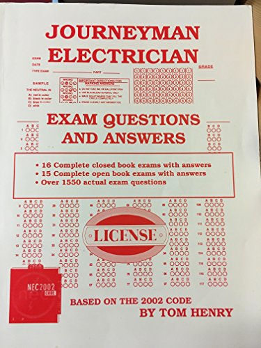 Journeyman Electrician Exam Questions & Answers
