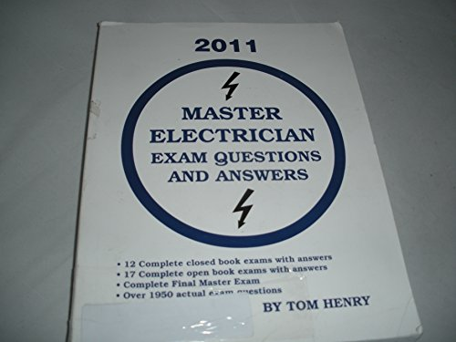 Master Electrician Exam Questions and Answers: Tom Henry