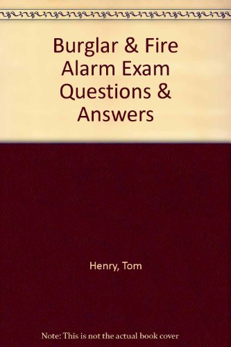 9780945495130: Burgler and fire alarm exam: Questions and answers