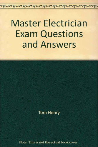 Master Electrician Exam Questions and Answers