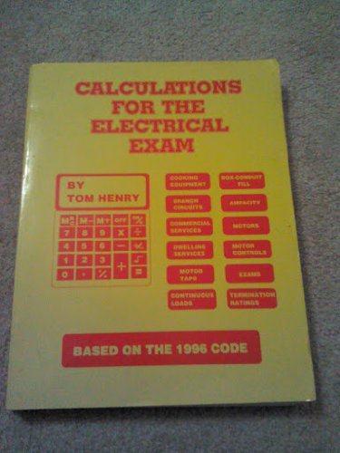 9780945495499: Calculations for the electrical exam