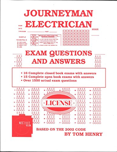 Journeyman Electrician Exam: Questions and Answers