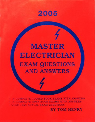 Master Electrician Exam Questions and Answers (License): Tom Henry