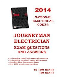 9780945495864: Tom Henry's Journeyman's Electrical Exam 2014