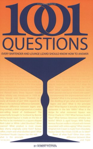 9780945562320: 1001 Questions Every Bartender And Lounge Lizard Should Know How to Answer
