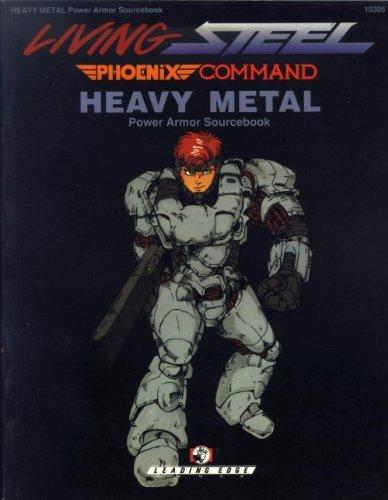 9780945571346: Heavy Metal: Power Armor Sourcebook (Living Steel) [Paperback] by Barry Nakoz...