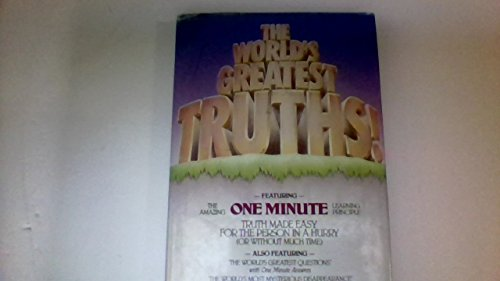 The World's Greatest Truths: James D. Bramlett