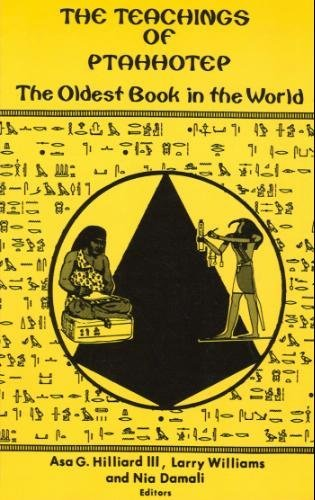9780945708025: The Teachings of Ptahhotep: The Oldest Book in the World