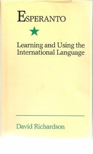 esperanto learning and using the international language pdf
