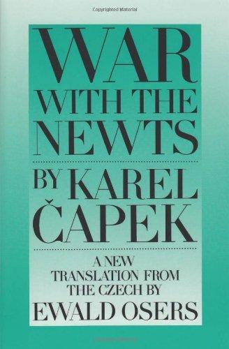 War with the Newts: Capek, Karel