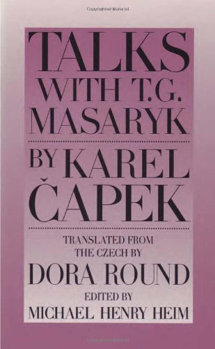 9780945774266: Talks with T. G. Masaryk
