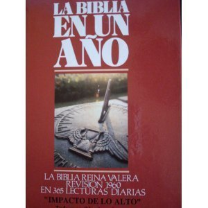 9780945792123: Spanish - RVO (1960) - One Year Bible