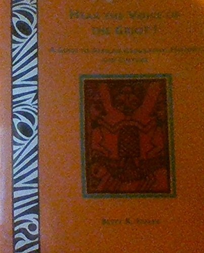 9780945803270: Hear the Voice of the Griot!: A Guide to African Geography, History, and Culture