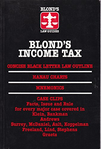 9780945819516: Blond's Income Tax