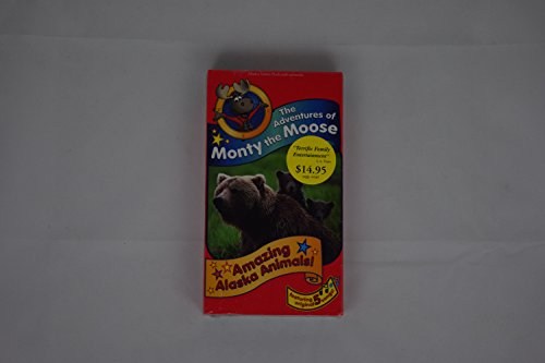 9780945853381: Adventures of Monty the Moose Amazing Alaska Animals [VHS]