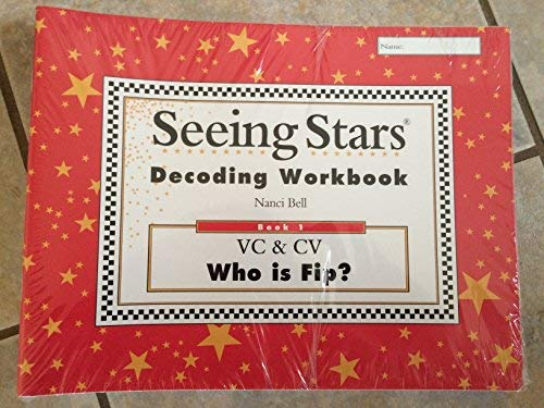 Seeing Stars Decoding Workbook