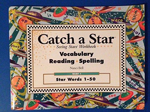 9780945856238: Catch a Star Seeing Stars Workbook: Vocabulary, reading, Spelling: Warp 1: Star Words 1-50