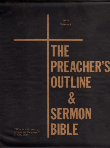 The Acts of the Apostles (The Preacher's: Alpha-Omega Minstries, Inc.