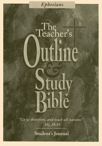 Ephesians Student's Journal (Teacher's Outline & Study: Leadership Ministries Worldwide