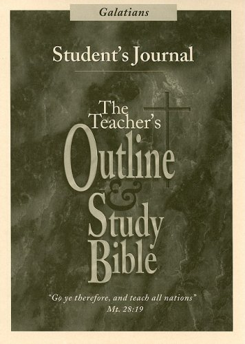 Galatians Student's Journal (Teacher's Outline & Study: Leadership Ministries Worldwide