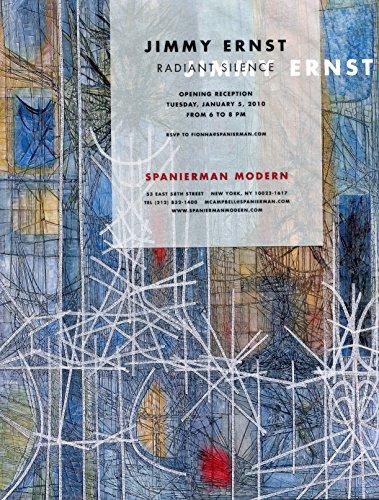 Jimmy Ernst: Radiant Silence (0945936990) by Douglas Dreishpoon