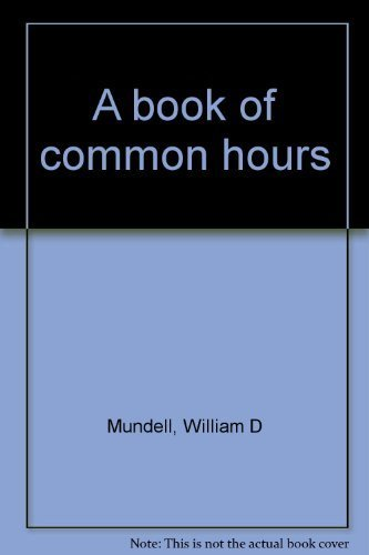 A Book of Common Hours