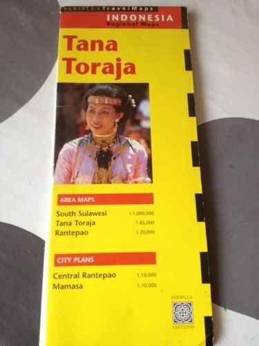 9780945971443: Tana toraja Travel Map 1st Edition (Indonesia Regional Maps)