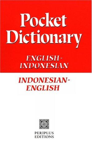 Indonesian Pocket Dictionary (Periplus language books): Oey, Dr Thomas
